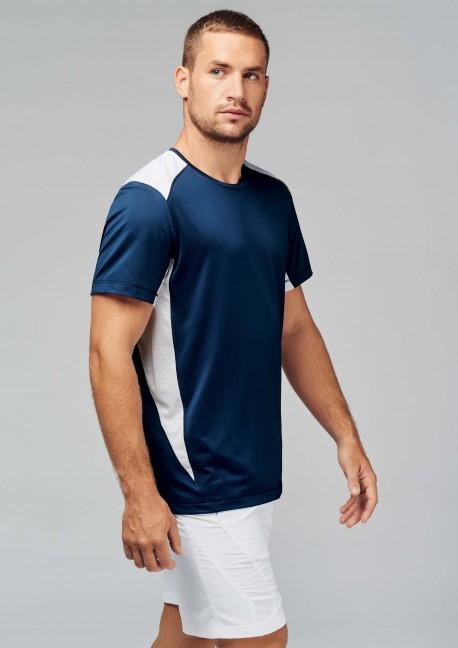 T-shirt running bi color