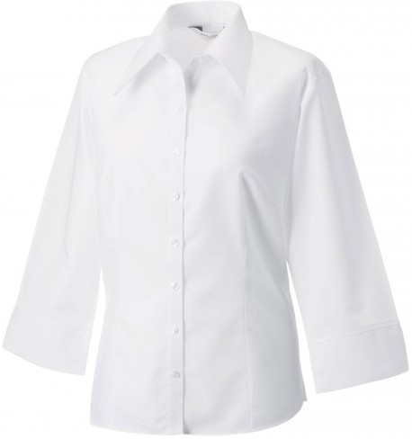 Chemisier tencel manches 3/4 RUSSEL