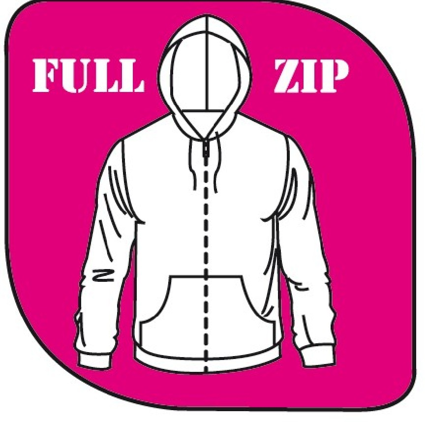 Sweat à capuche full zip