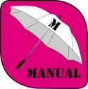 Parapluie manuel moyen format