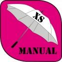 Parapluie manuel petit format